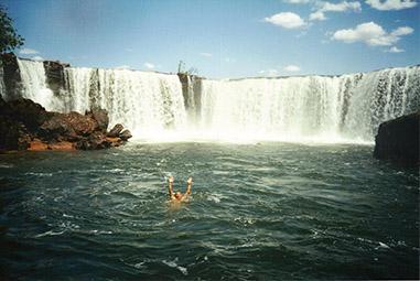 Cachoeira Velha água