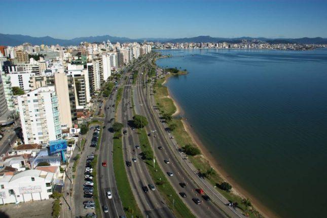 Orla de Florianópolis