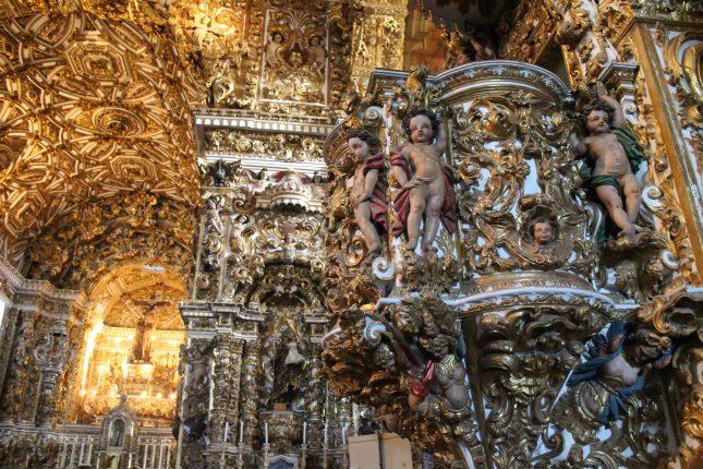 Igreja de São Francisco de Assis em Salvador