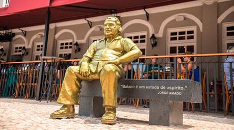 Estátua de Jorge Amado