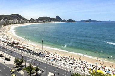 Praia de Copacanaba